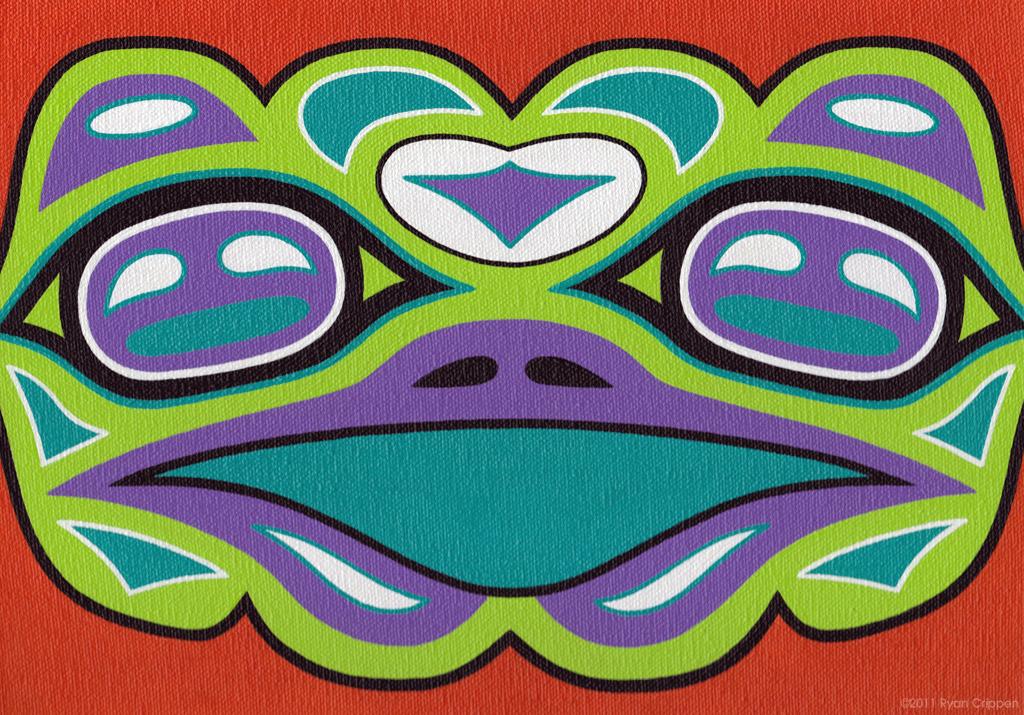 Totem Face 1