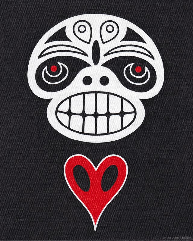 Spirit Totem Painting