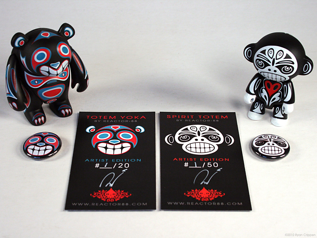 Spirit Totem & Totem Yoka Artist Editions