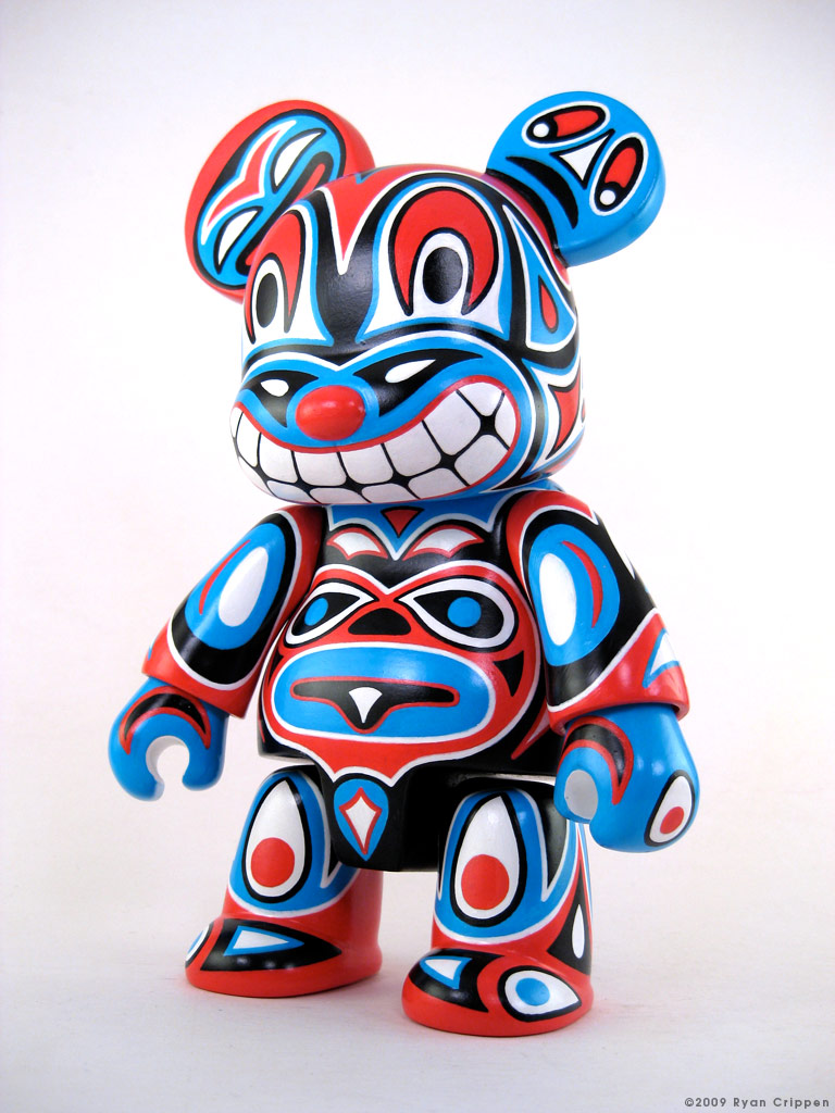 Reactor-88 Earth 8-inch Totem Qee Bear