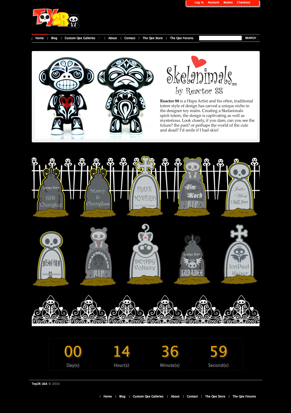 Reactor-88's Spirit Totem Official Reveal on Toy2r Website