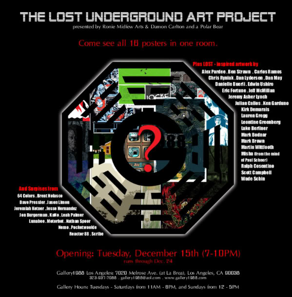 Reactor-88 LOST Underground Art Project