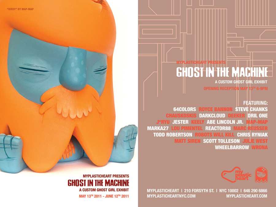 Ghost in the Machine Flyer