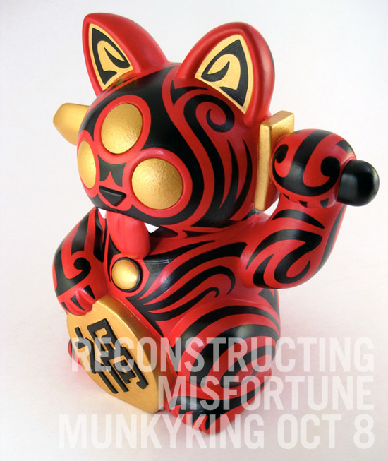 Reactor-88 - Maori Cat - Reconstructing Misfortune - Munky King - Oct. 8th